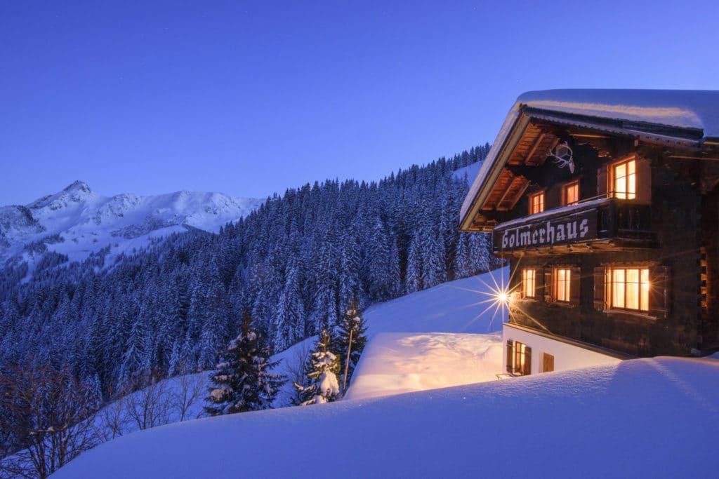 Golmerhaus Bergerlebnis Winter